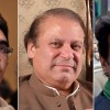 Nawaz Sharif, Imran Khan and Bilawal Bhutto
